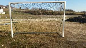 Porte da calcetto a 5 regolamentari serie posot class - Misure porta calcio a 5 ...