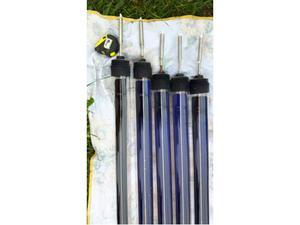 Solare termico, tubi in vetro sottovuoto