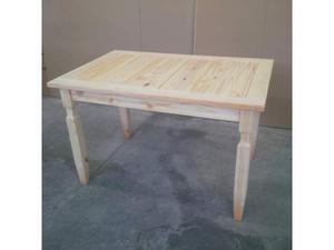 Tavolo 120 x 80 legno massello di pino naturale