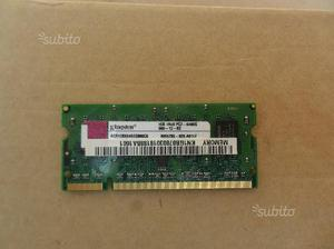 Memoria so-dimm 1Gb ddr2 pcs notebook