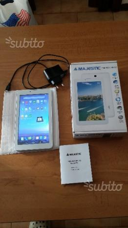 Tablet MAJESTIC TAB 3G nuovo