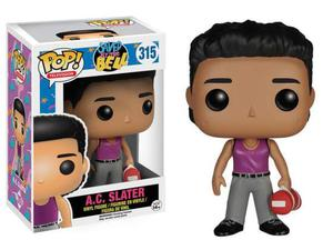 Funko pop television saved by the bell figure a.c. slater 10