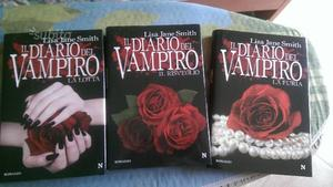 Tre libri diario del vampiro