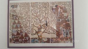 Albero della Vita - G- Klimt. stampa con cornice