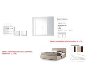 386 camere da letto nuove imballate torino posot class for Camere complete economiche