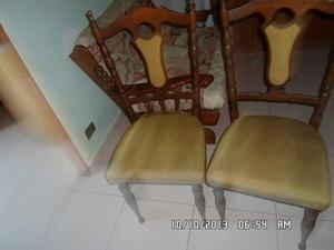 Coppia sedie anni 40 velluto e legno posot class for Sedie in velluto