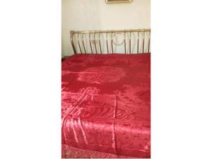Copriletto damascato in seta nuovo italia posot class - Copriletto matrimoniale rosso ...