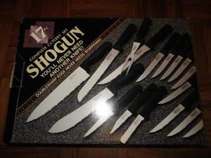 NUOVO Set di coltelli Shogun (incompleto)