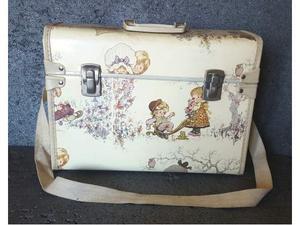 Sarah kay valentine valigetta vintage 38 x 28 cm