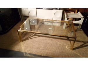Tavolo basso con piano di vetro e 4 ruote posot class for Tavolo 90x60