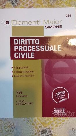 Libri vari di diritto processuale civile e penale