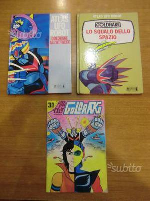 Libro e fumetto Goldrake Atlas UFO Robot