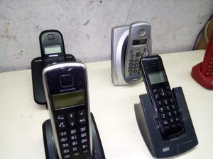 Lotto di 8 telefoni cordles vari tipi e modelli