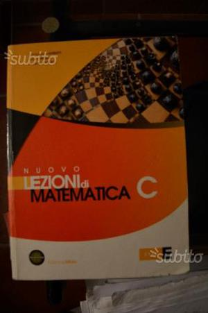 Nuovo lezioni di matematica C Lamberti Mereu Nanni