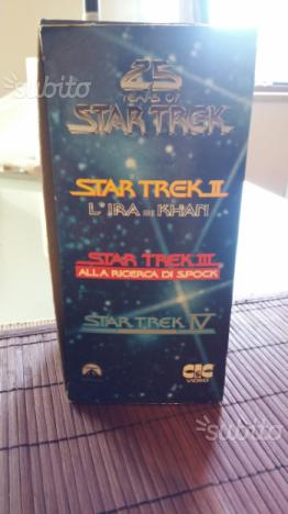 "Cafanetto videocassetta ""25 years of star trek"""