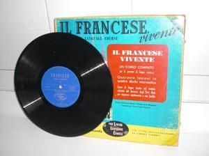 Corso di francese con dischi anni '60