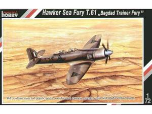 Special hobby  hawker sea fury t.61 bagdad trainer fury