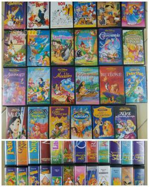 VHS Walt Disney originali usati