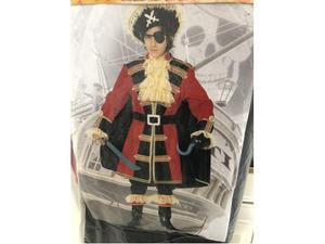 Vestito di carnevale Capitan Uncino