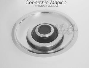 COPERCHIO MAGICO DIAMETRO 20 cm. NUOVO SISTEMA DI COTTURA