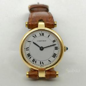 Cartier orologio da donna cassa in ORO scatola