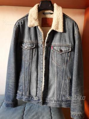 Giubbotto jeans levi's sherpa