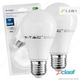 LED Bulb - 9W E27 A60 Thermoplastic Color Change 2700K 2
