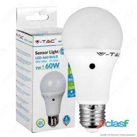 LED Bulb - 9W E27 A60 Thermoplastic Sensor 200D 2700K