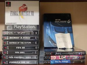 Lotto giochi PS1 e PS3