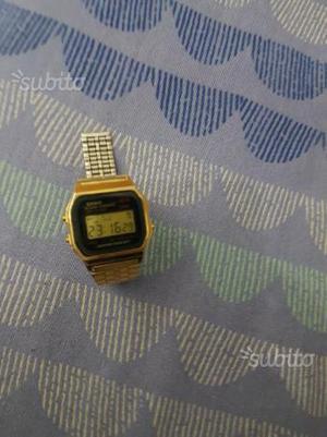 Orologio Casio gold