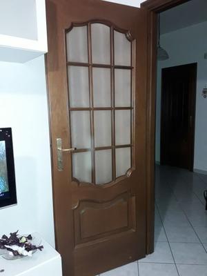 Porte interne in legno noce