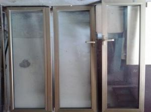 Porta finestra in alluminio color bronzo posot class - Larghezza porta finestra ...