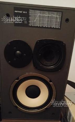 Coppia di Casse Audio Ritmo 35-3 a 3 vie
