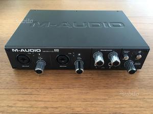M-Audio ProFire 610 scheda audio