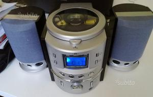 Mini cd player con radio am fm