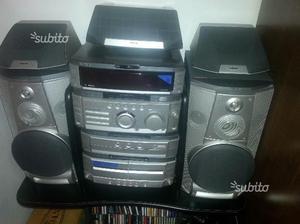 Potente impianto stereo sony