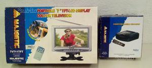 """Mini TV 7"""" Majestic con decoder"""