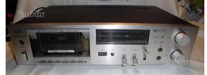 Piastra cassette deck basf d- come nuova