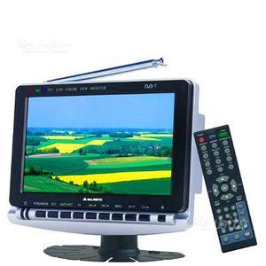 """Televisore 7"""" Majestic decoder integrato"""