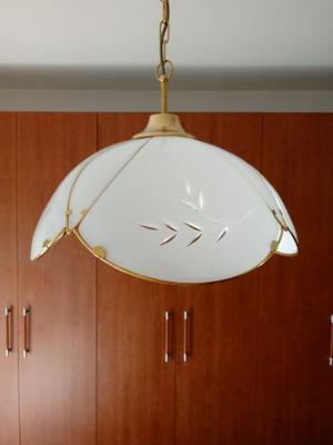 Vendo SET LAMPADE IN VETRO SERIGRAFATO