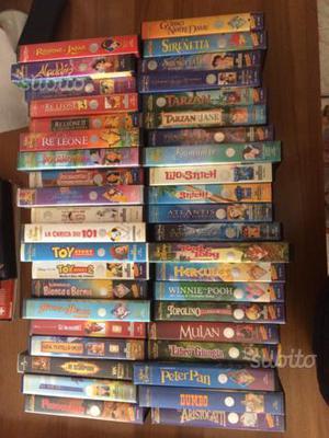 Vhs Walt Disney originali e altre