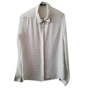 camicia con strass