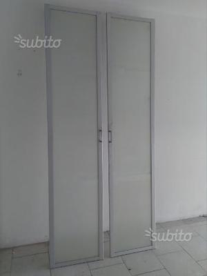 Nuovissimo armadio ikea ante in vetro posot class for Armadio ikea 2 ante