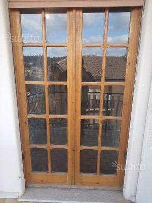 Finestre in legno naturale di cipresso 5 posot class - Finestre in legno prezzo ...