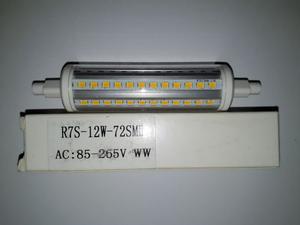 Lampadina LED R7s 12 watt, 118 mm, luce bianca calda non