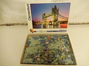 PUZZLE TOWER BRIDGE LONDRA,  pezzi