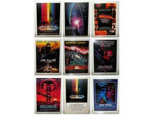 Star Trek - Cartoline postali con le locandine dei film