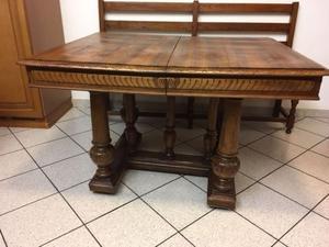 Tavolo nuovo 140 x 90 allungabile noce massello posot class for Tavolo legno noce nazionale