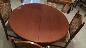 Tavolo con 6 sedie