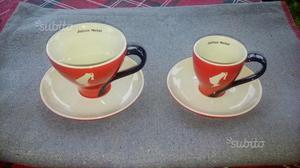 Tazzine da caffè e tazze da the nuove con piatti